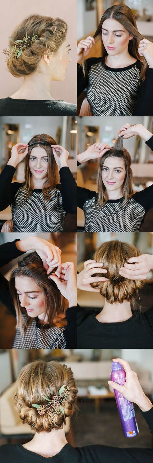 Updo Hairstyles for Long Hair   14 Stunning & Easy DIY Hairstyles for Long Hair ...