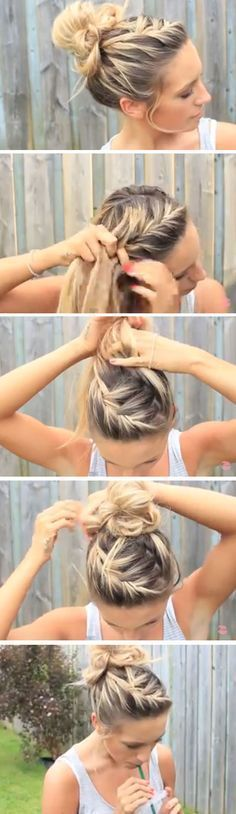 12 Easy DIY Hairstyles for The Beach