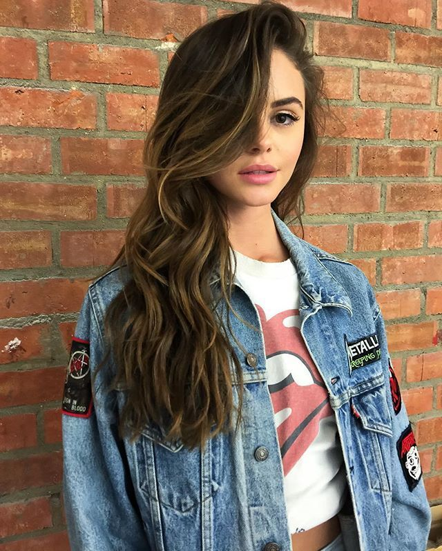 Browse Instagram-approved long hair inspiration  at /stylecaster/ | side-swept l...