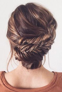 Elegant Double Fishtail Updo on @ashpettyhair ♥ You can learn how to recreate ...