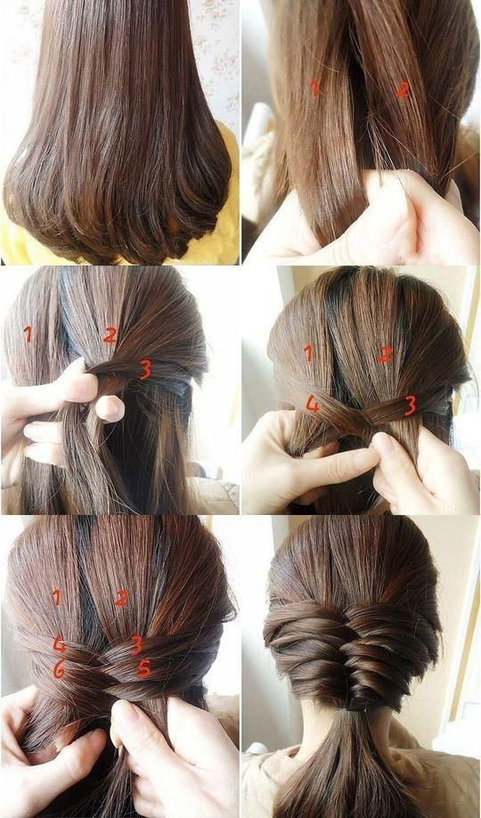 Hello, girls! What a beautiful day for spring! Do you want a new hairstyle for a...