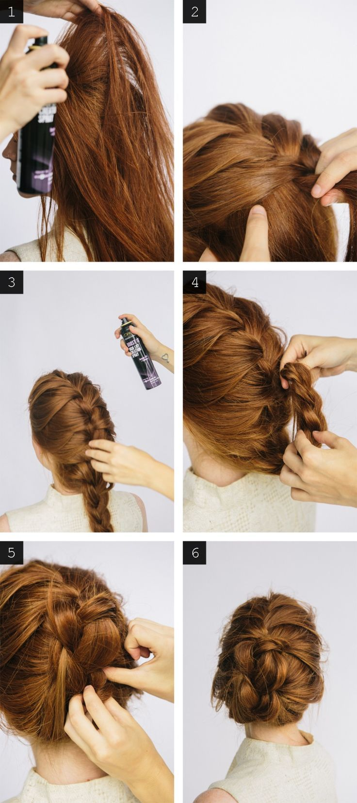 How-To: Braided Bun with L'Oreal Paris Advanced Hairstyle hairstyle.com...