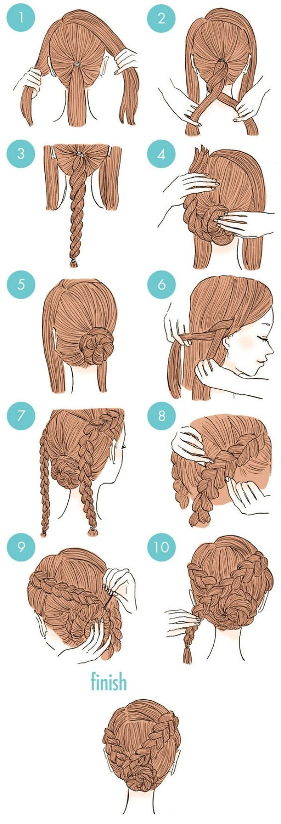 If you're feeling bored with your usual hairstyle but just don't want to...