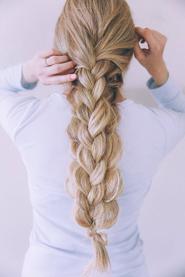 long big braid....