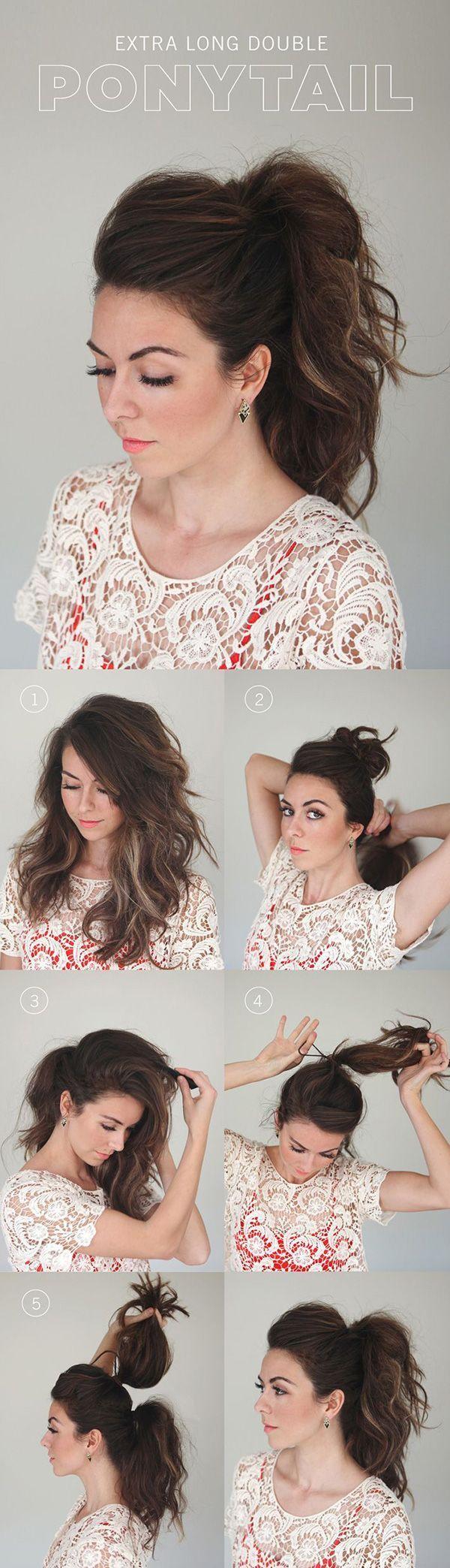 ponytail ideas...