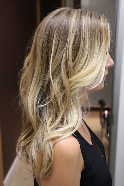 With more blonde in front of hair...