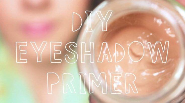 DIY Eyeshadow Primer | Easy & Affordable Primer That Works...