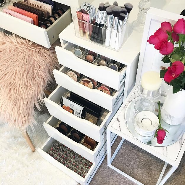 Ikea Alex Drawer   Makeup Organizers You'll Surely Love...