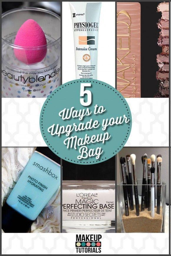 5 Ways To Upgrade Your Makeup Bag | Essential Makeup Products By Makeup Tutorial...