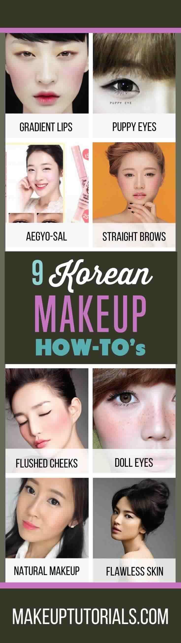 9 Korean Makeup Tutorials | How To Do Korean Makeup & Awesome Korean Makeup ...