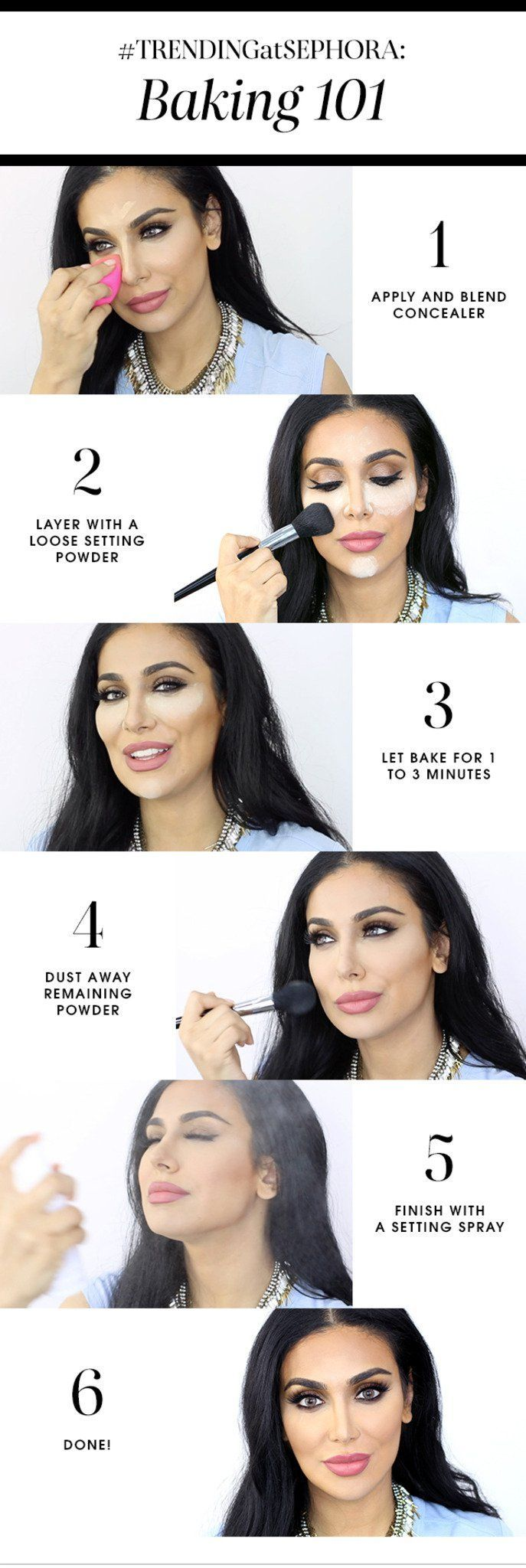 Baking 101: A Trend In Makeup Tutorials You Need To Know