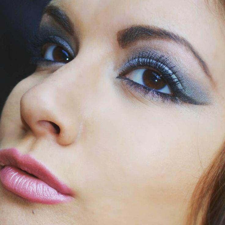 Blue Eyeshadow | Colorful Eyeshadow Tutorials For Brown Eyes...