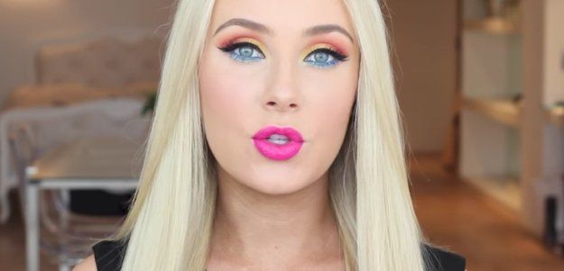 Colorful Eyeshadow Combinations | Makeup tutorials for Blue Eyes...