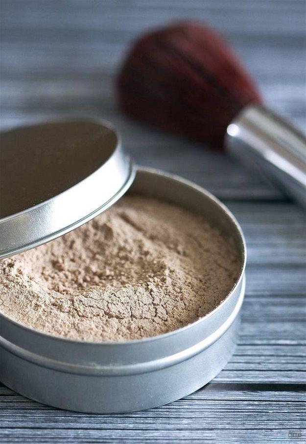 Homemade Loose Powder | Easy Makeup Recipe Ideas For DIY Cosmetics Makeup Tutori...