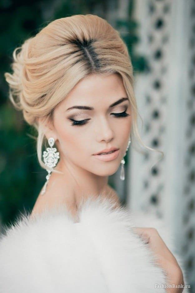Smoke and Glitter | Wedding Makeup Looks Inspiration For Your Big Day...