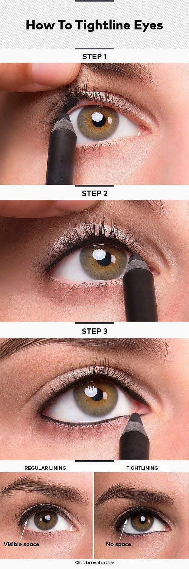 Tightlining 101 Make Your Eyes Bigger Lashes Thicker Check It Out At Makeupt
