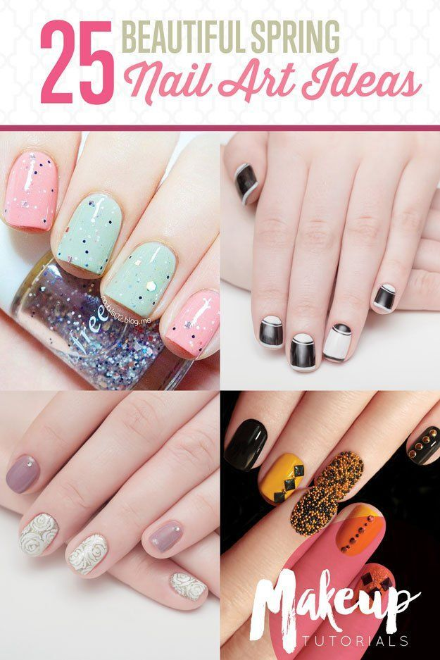 Your short nails deserves to be dolled up too. Our 25 cute nail ideas for short ...