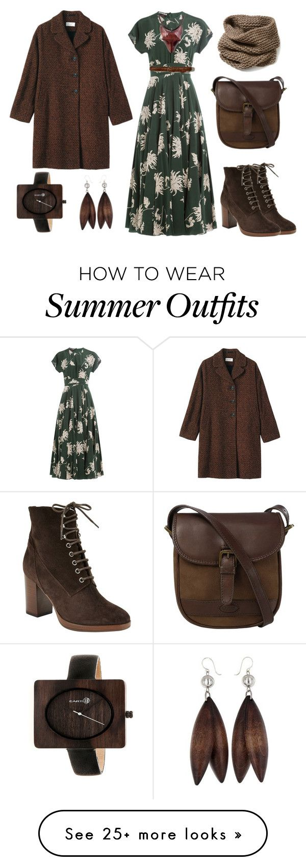 """""""027. Into the Woods outfit for Warm Summer color type"""" by sollis on P..."""