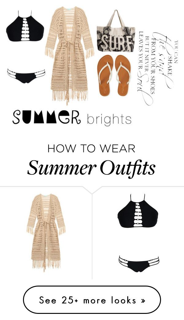 """""""#BeachLife"""" by sami-paradise on Polyvore featuring Melissa Odabash, A..."""