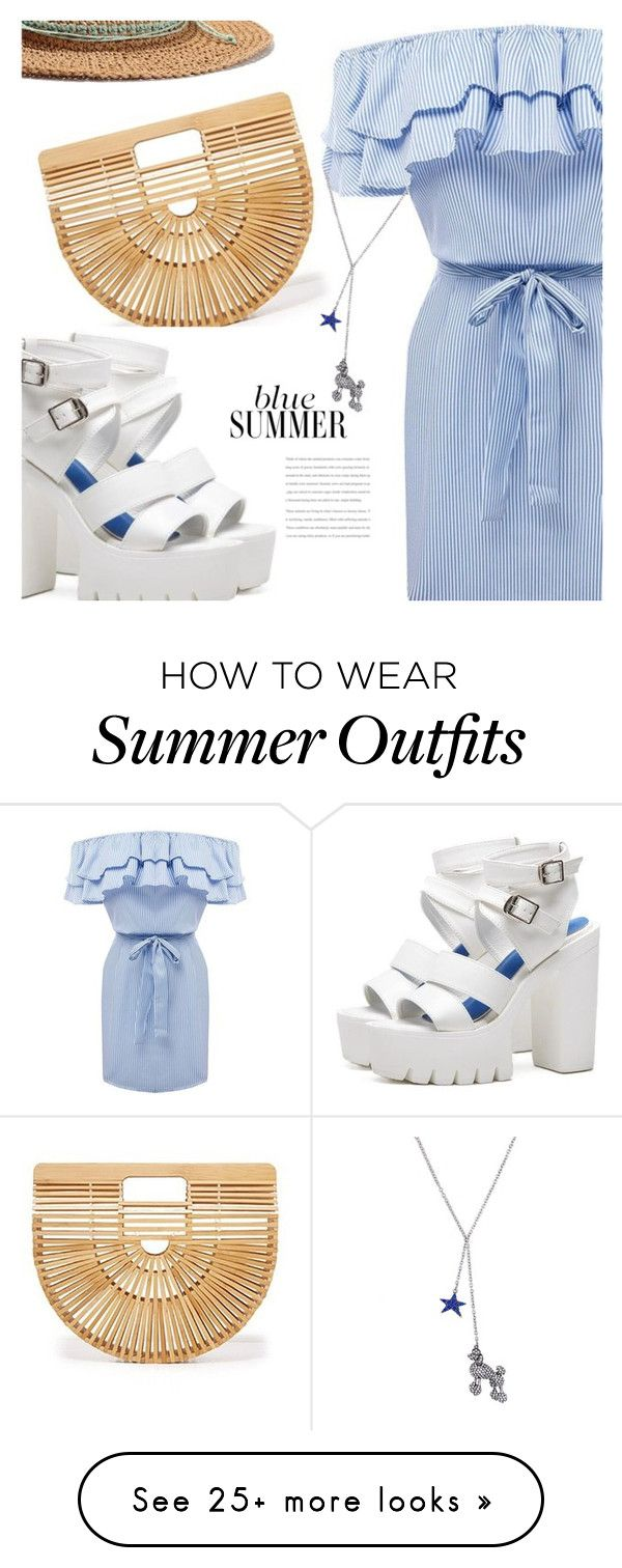 """blue summer"" by sharmarie on Polyvore..."