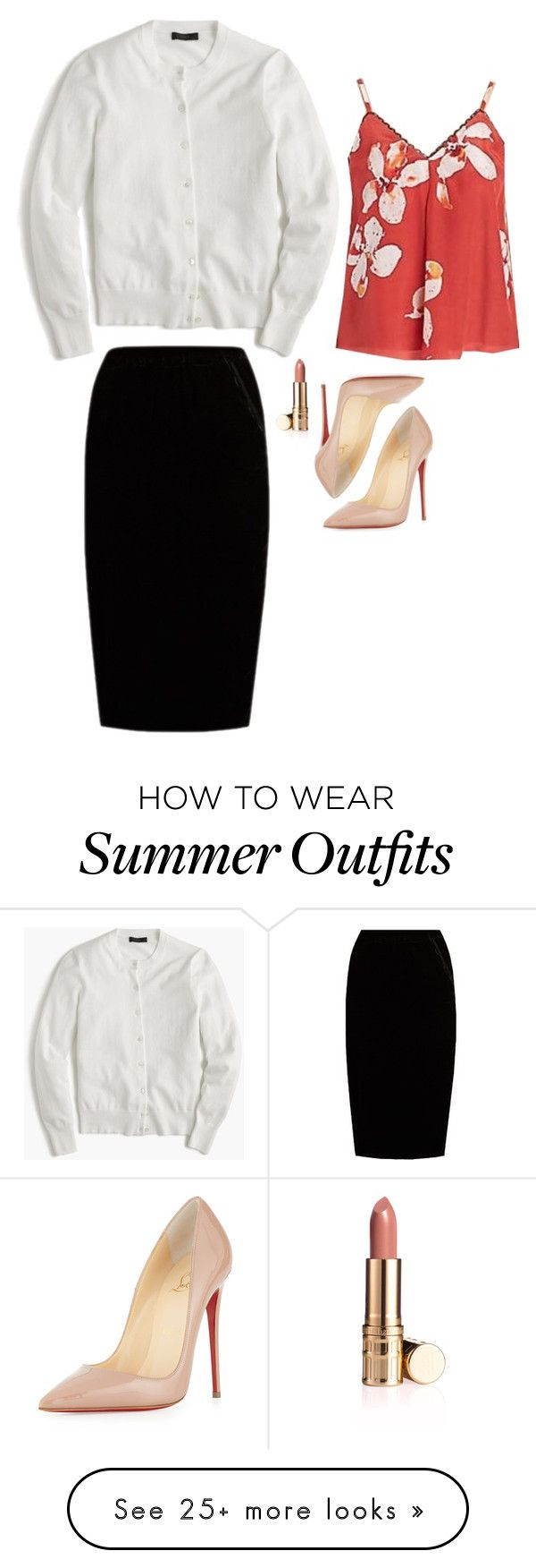 """""""Caroline Forbes Inspired Outfit"""" by daniellakresovic on Polyvore feat..."""