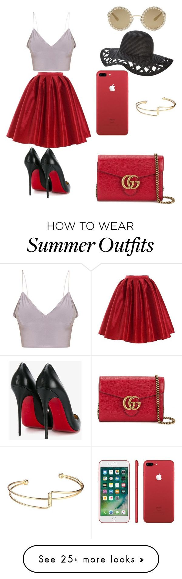 """""""Casual Summer Outfit"""" by always-rebecca-b on Polyvore featuring Chicw..."""