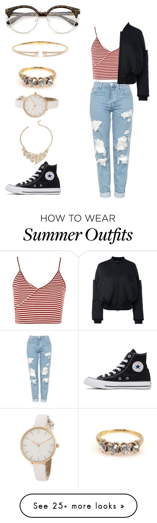 """""""Casual Summer Outfit"""" by always-rebecca-b on Polyvore featuring Topsh..."""