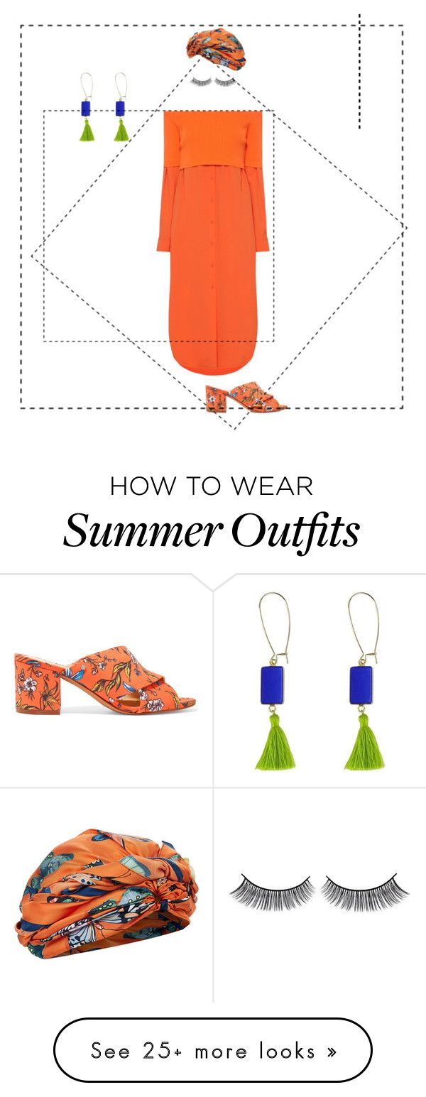 """""""Citrusy Summer Outfit"""" by amplebeauty on Polyvore featuring Sam Edelm..."""
