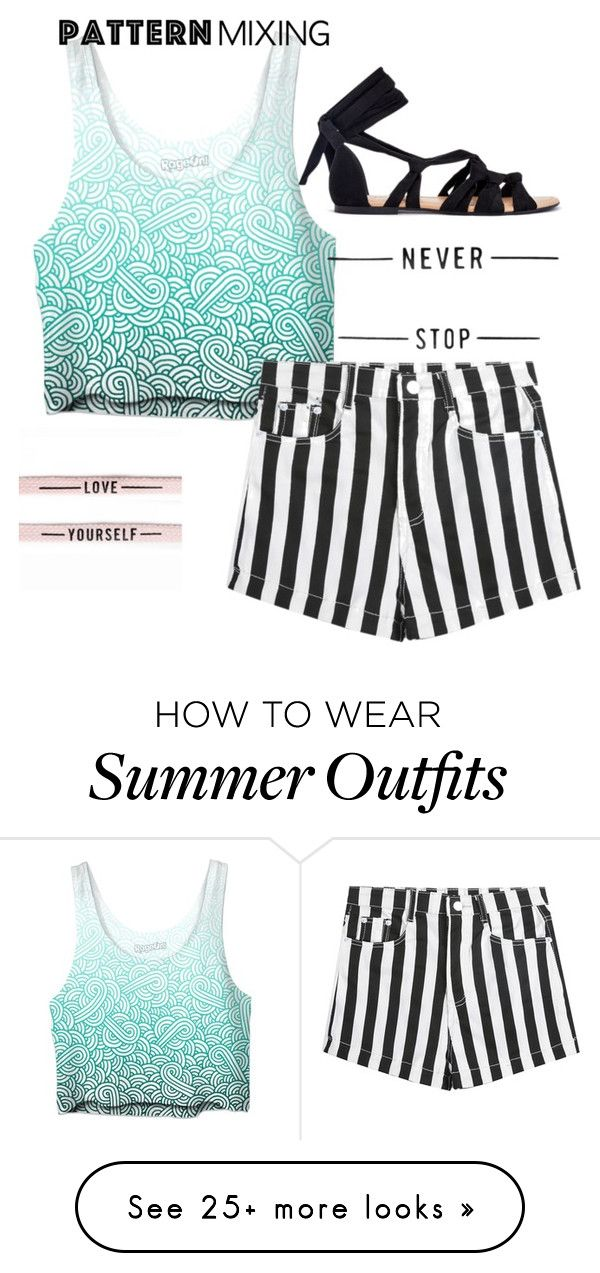 """""""cute pattern summer outfit"""" by jinxxbabyx on Polyvore..."""