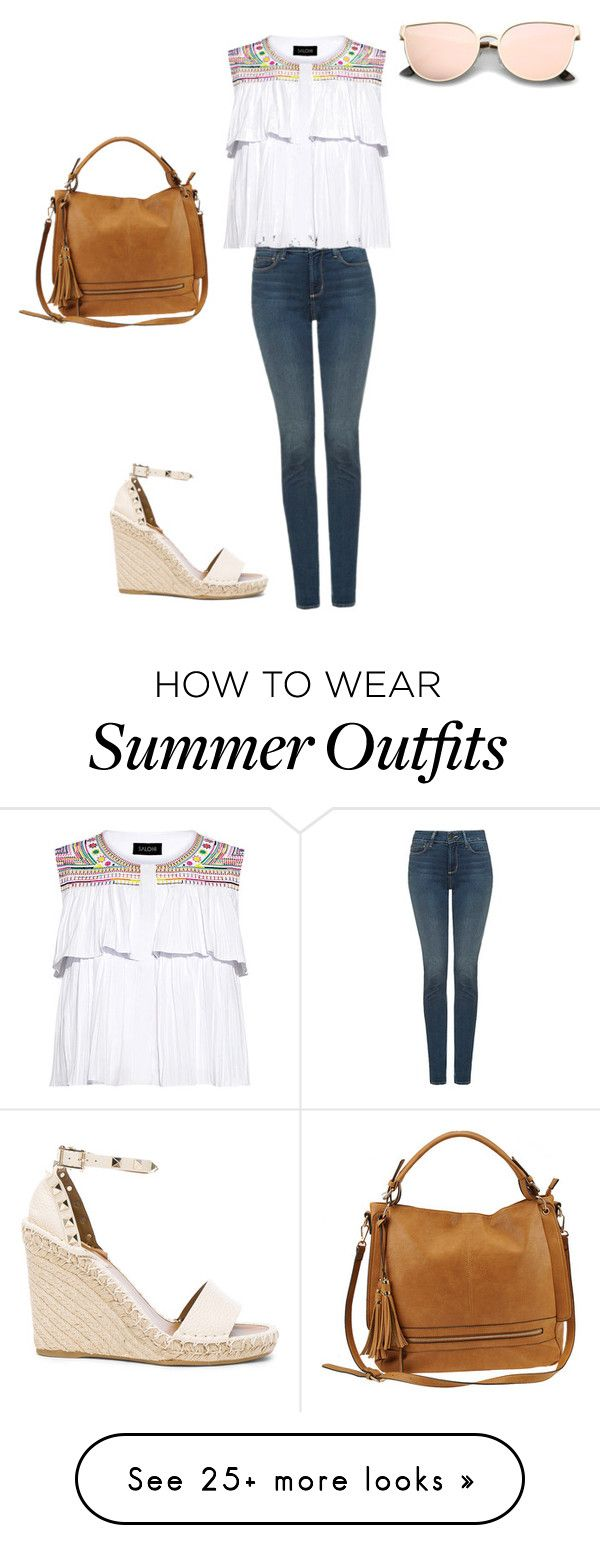 """""""Cute summer outfit"""" by krasnadaisy8 on Polyvore featuring Valentino, ..."""