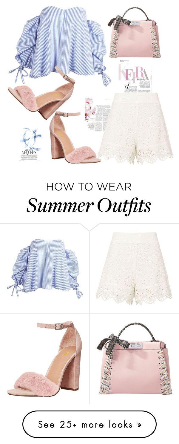 """FSJ summer outfit"" by fsjamazon on Polyvore featuring Nightcap, Fendi..."