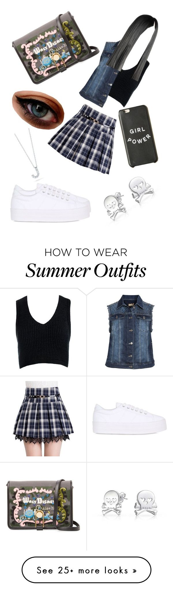 """""""Girls Day Outing Outfit"""" by cooljen13 on Polyvore featuring Sans Souc..."""