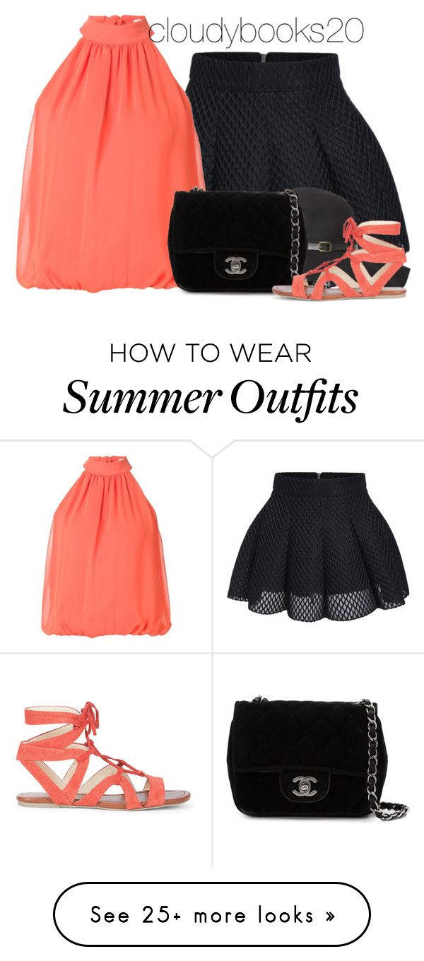 """Girly Summer Outfit"" by cloudybooks on Polyvore featuring Alice + Oli..."