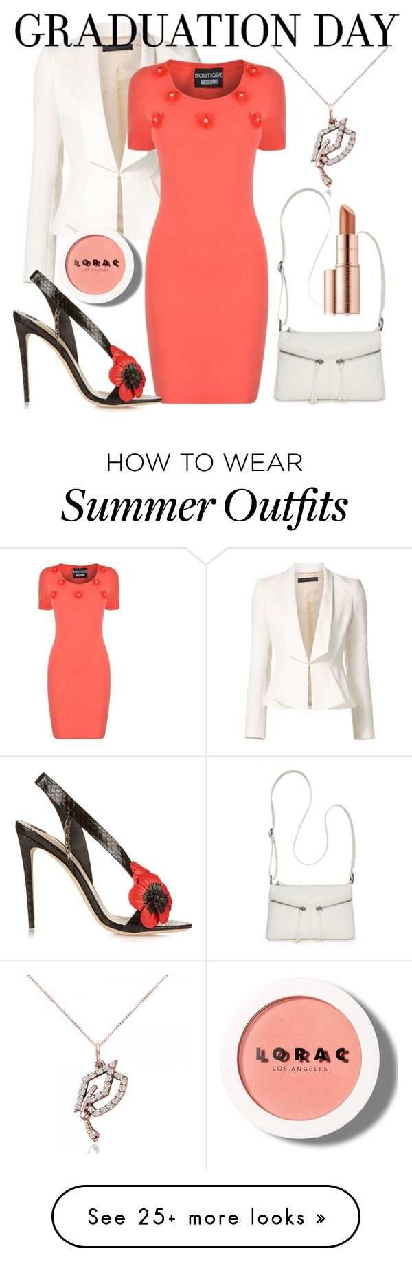 """Graduation Day Outfit"" by artgirlnarnia on Polyvore featuring Elie Sa..."
