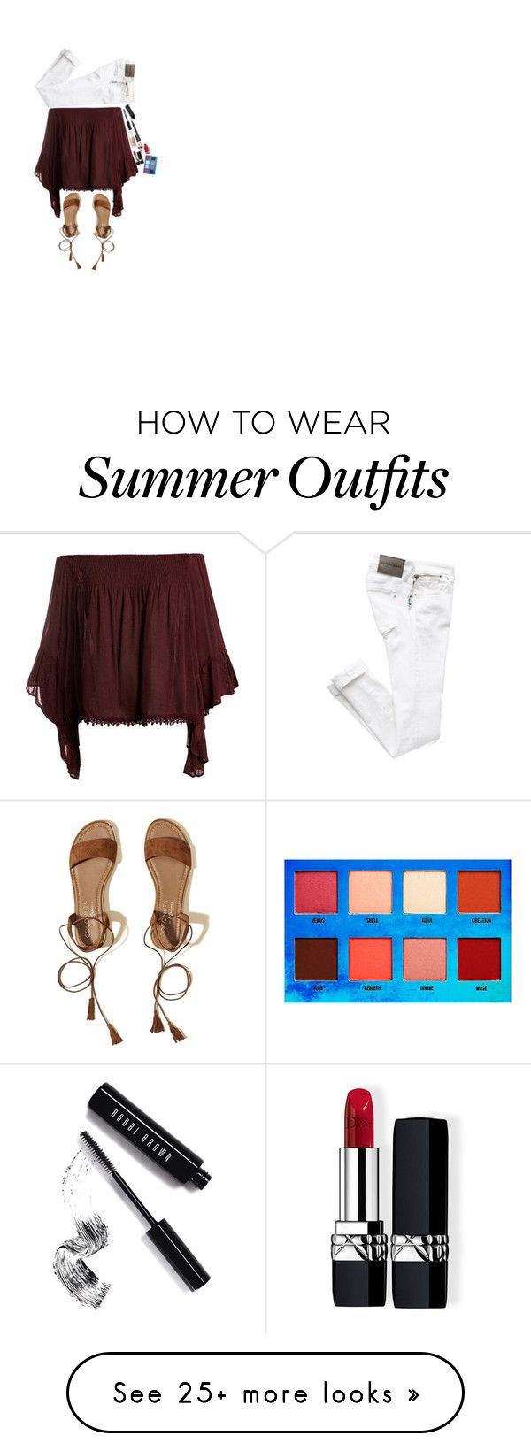"""""""Harley Quinn inspired summer outfit ;, Jessica drew"""" by its-my-fandom..."""