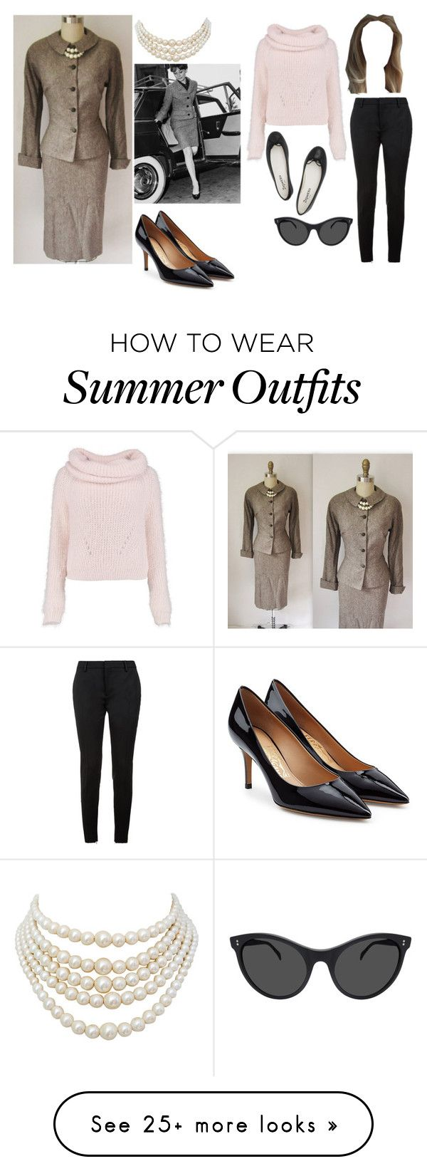 """jackie kennedy inspired."" by anastasiabrownn on Polyvore featuring Sa..."