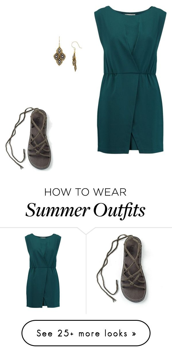 """""""Lovely outfit"""" by plaka-sandals on Polyvore featuring Halston Heritag..."""
