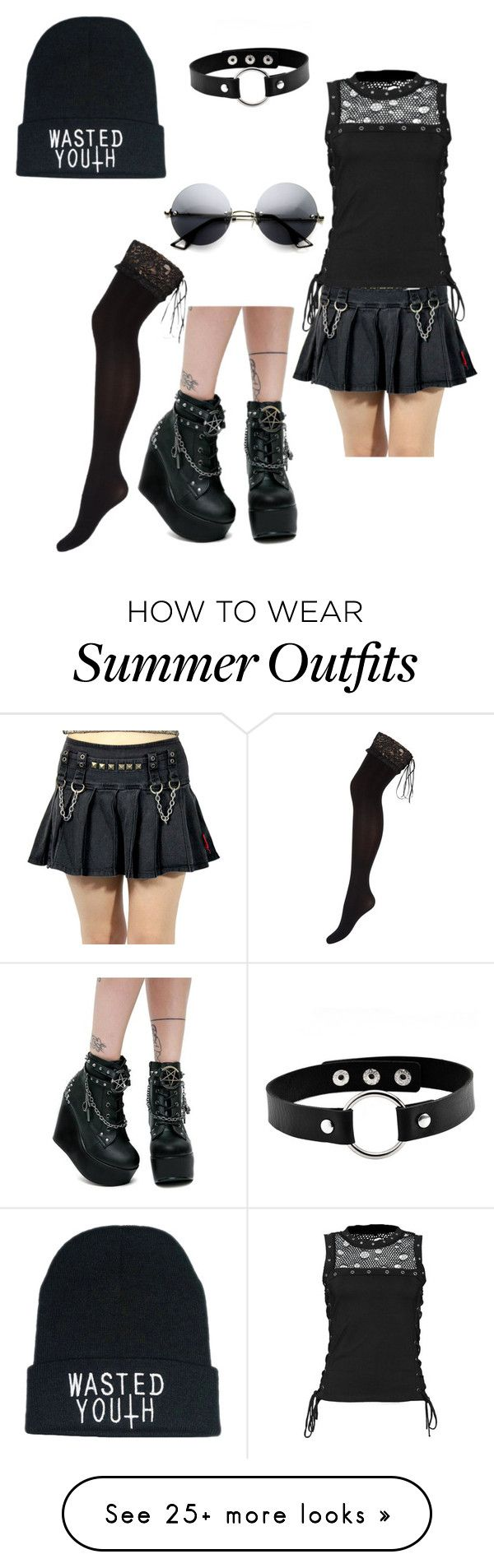 """""""Luna outfit 3"""" by jubileex-girl on Polyvore featuring Ann Summers..."""