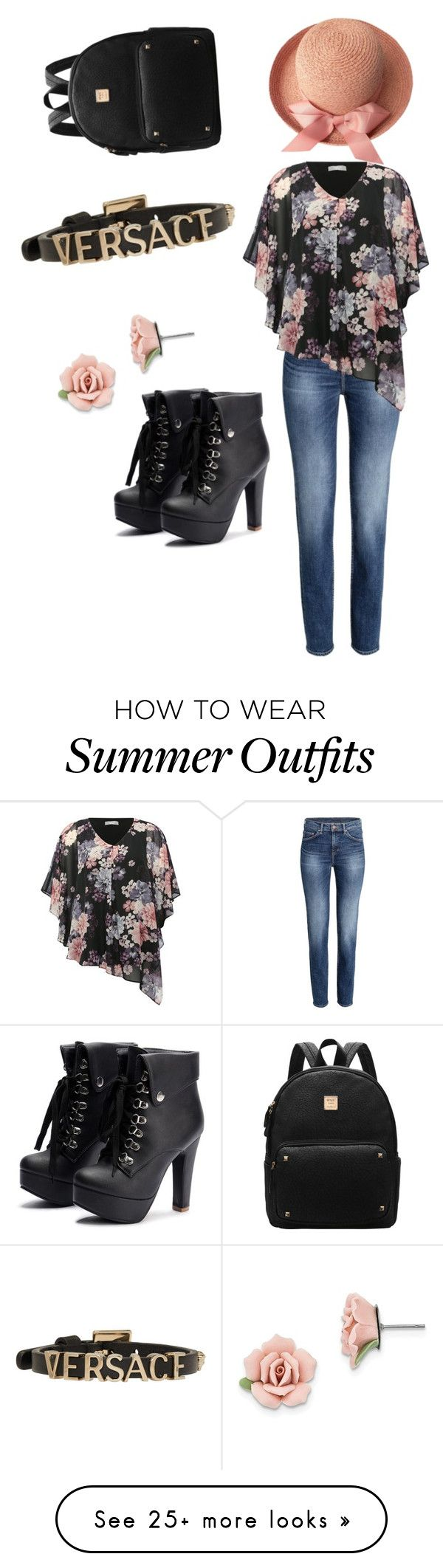 """""""My First Polyvore Outfit"""" by elizaveta-ponarina on Polyvore featuring..."""