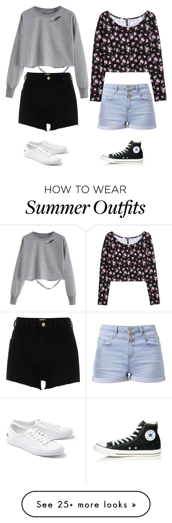 """""""Outfit of summer 2017"""" by clea69 on Polyvore featuring River Island, ..."""