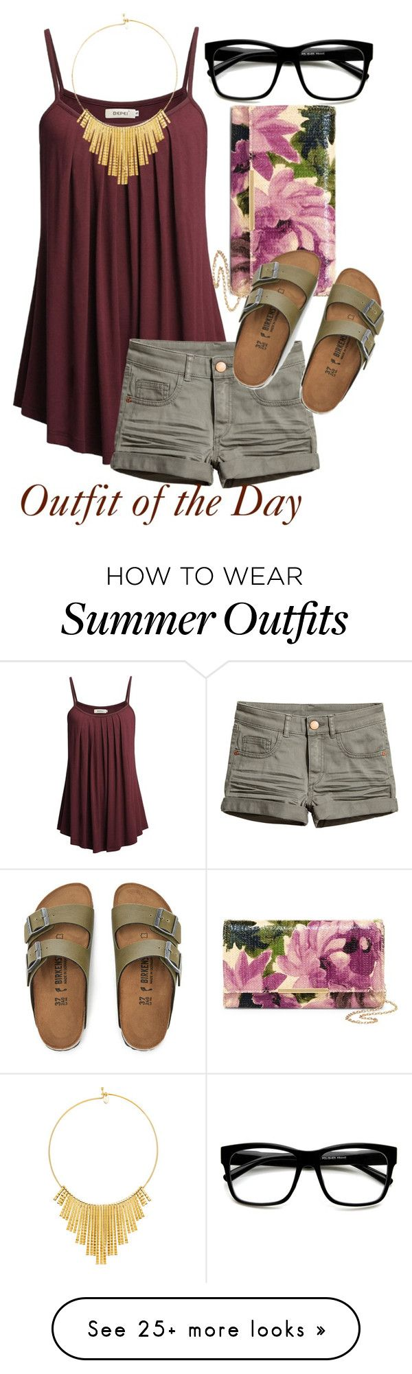 """""""Outfit of the Day"""" by mindlessmess on Polyvore featuring Natasha, Bir..."""
