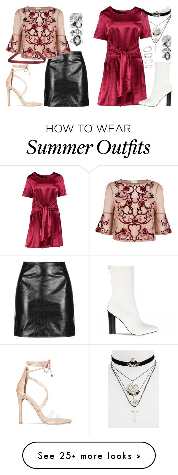 """perrie summer christmas outfits"" by bekahtee on Polyvore featuring Mo..."