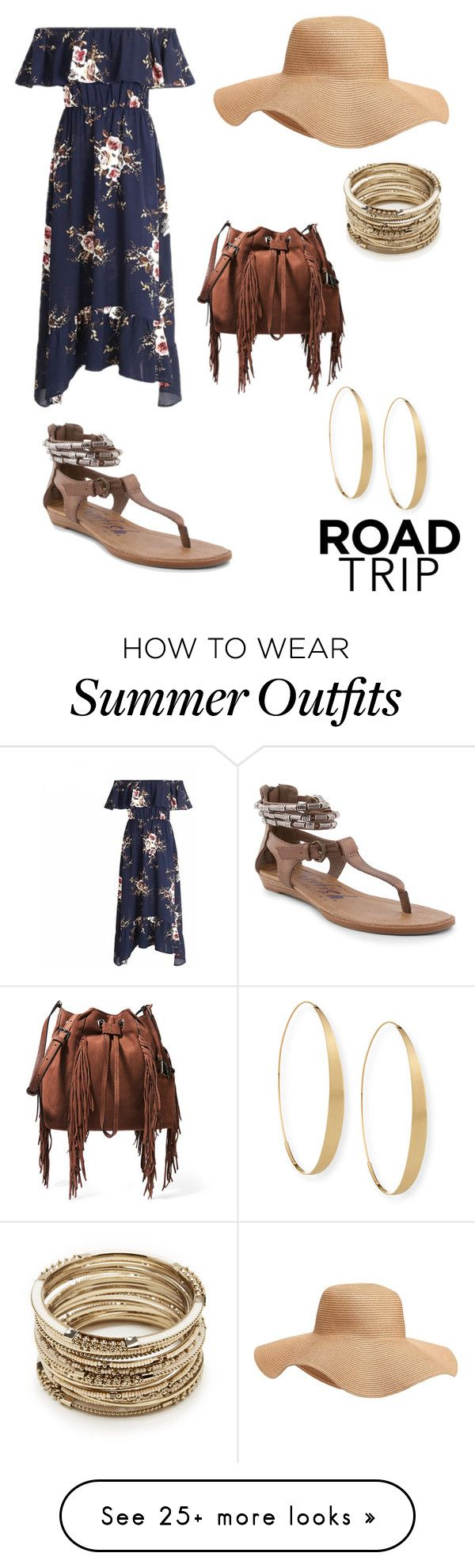 """RoadTrip Outfit"" by jmacbeth129 on Polyvore featuring Diane Von Furst..."