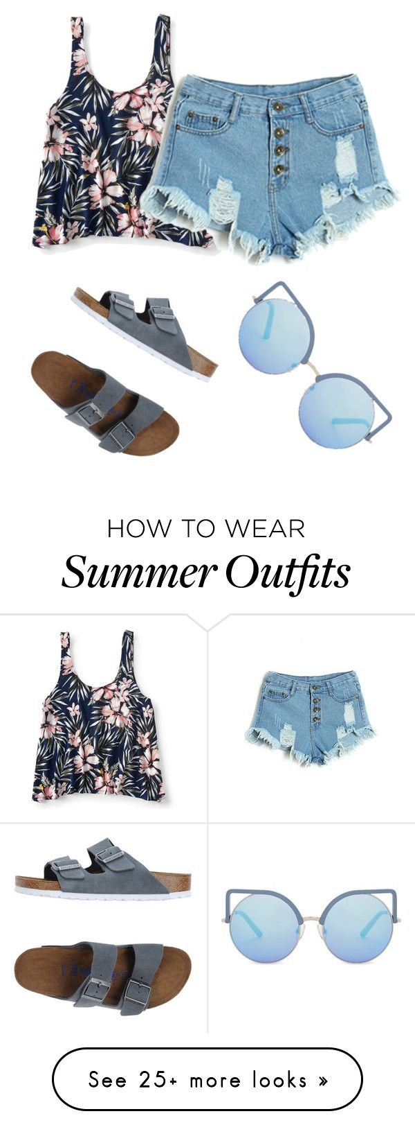 """""""Simple summer outfit"""" by dessyaramadhanti on Polyvore featuring Aé..."""