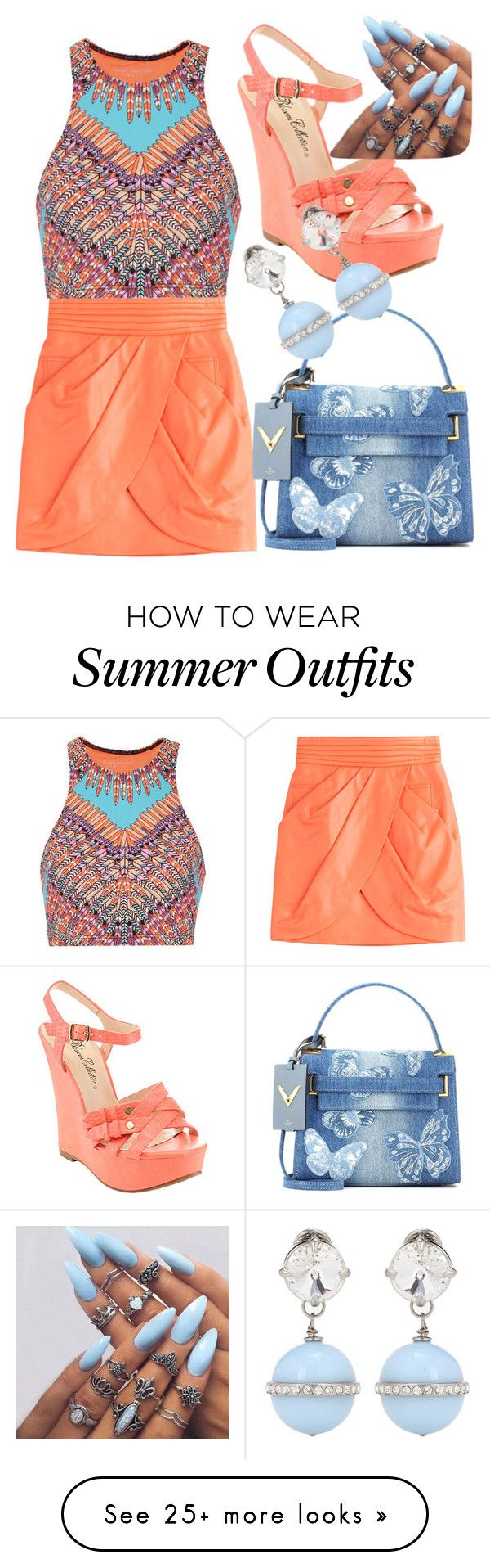 """""""#Spring/Summer outfit#"""" by jojoberryperry on Polyvore featuring Balma..."""
