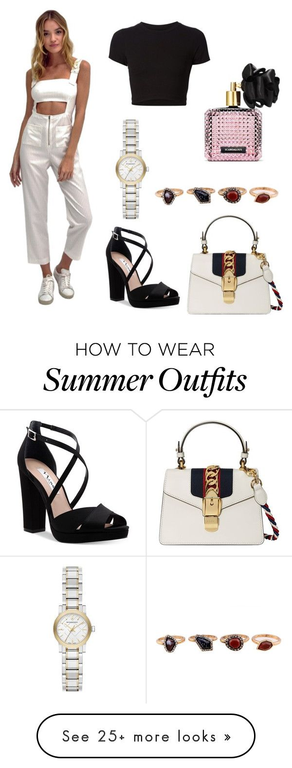 """""""Summer glam outfit"""" by darnelll on Polyvore featuring Getting Back To..."""