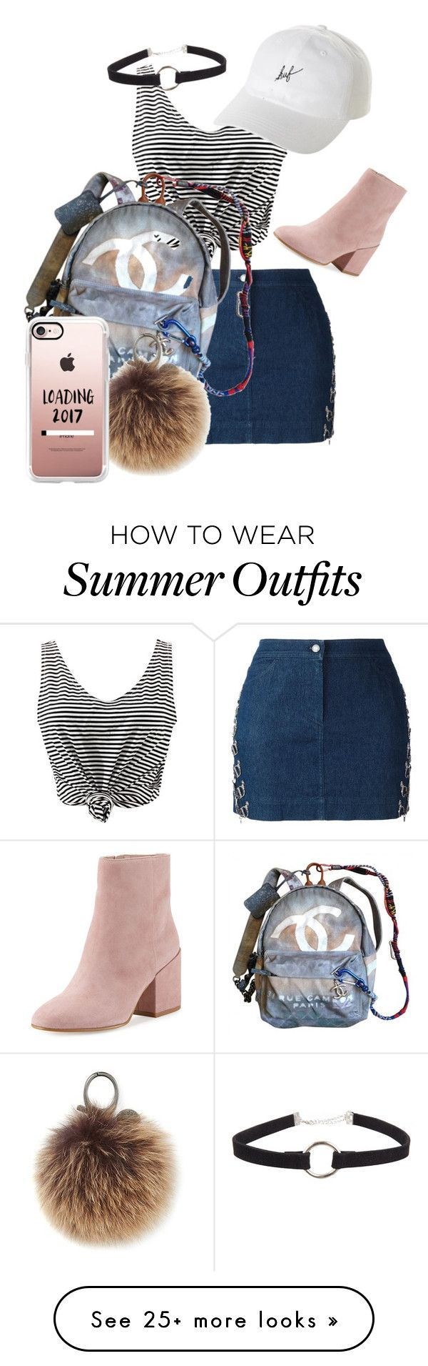 """""""Summer le outfit """" by steffyaimedaca on Polyvore featuring WithChic, ..."""