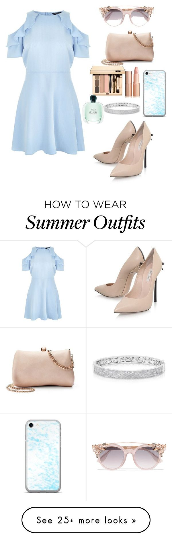 """""""Summer outfit"""" by alishafadeeva on Polyvore featuring New Look, Casad..."""