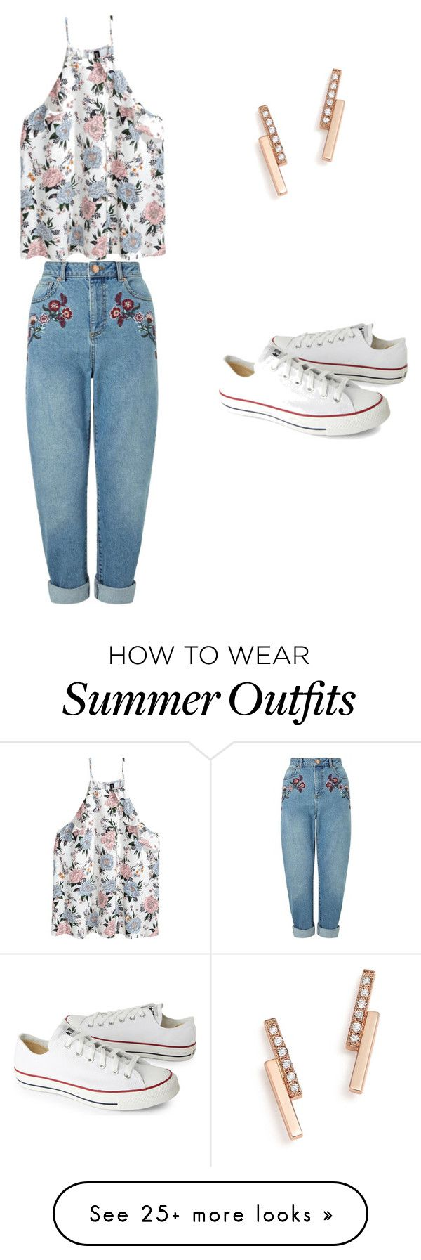 """Summer outfit"" by estefaniacervantes44 on Polyvore featuring Zoë C..."