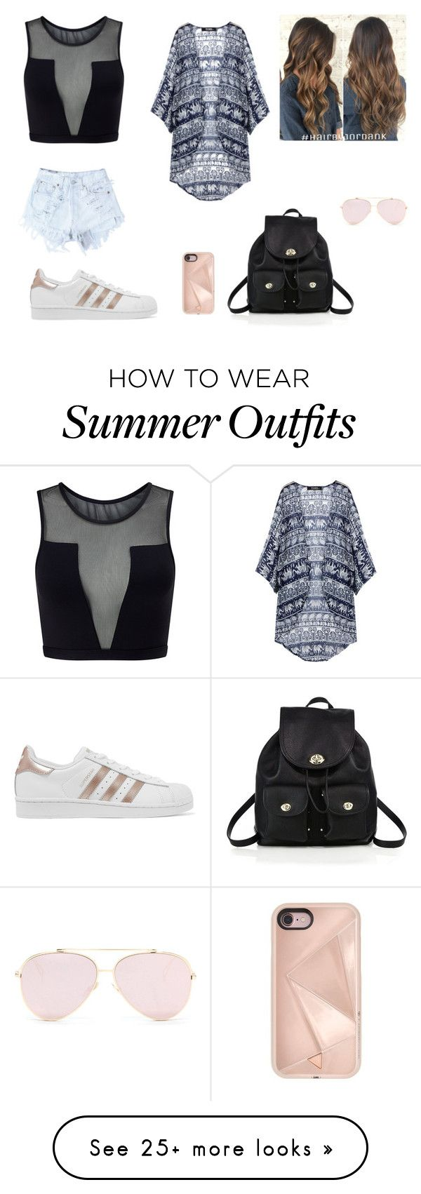 """""""Summer Outfit"""" by ixea32 on Polyvore featuring Varley, Levi's, ad..."""